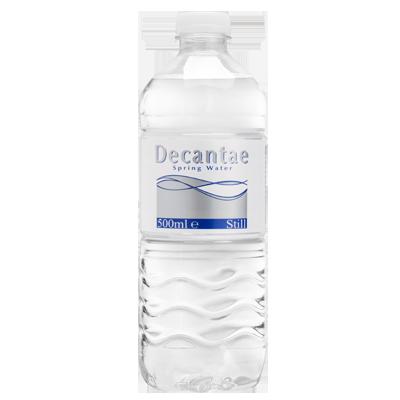 Decantae waterflesjes 500 ml
