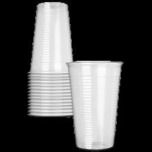 Bekers plastic 0,25 liter - 100 stuks